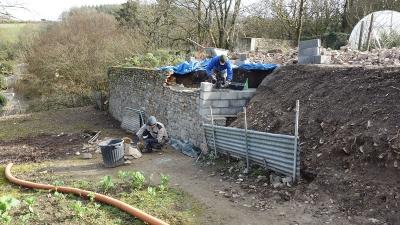 Реставрация каменной стены
