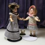 Куклы mignionnette: 16.5cм и 14,5 см.