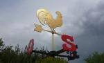 флюгер - золотой петушок